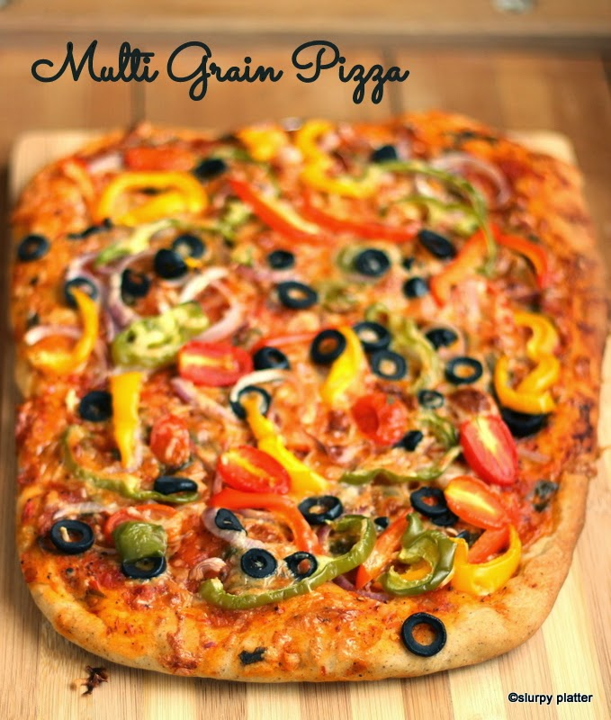 MULTI-GRAIN PIZZA FROM THE SCRATCH