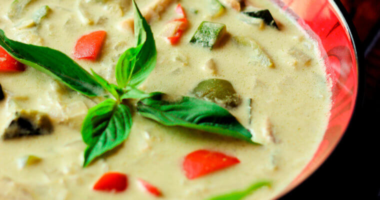 Thai Green Curry With Vegetables