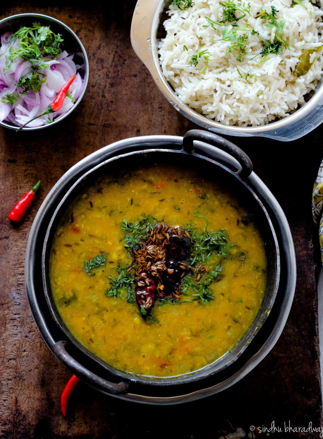 Learn how to make restaurant style dal fry with this simple recipe