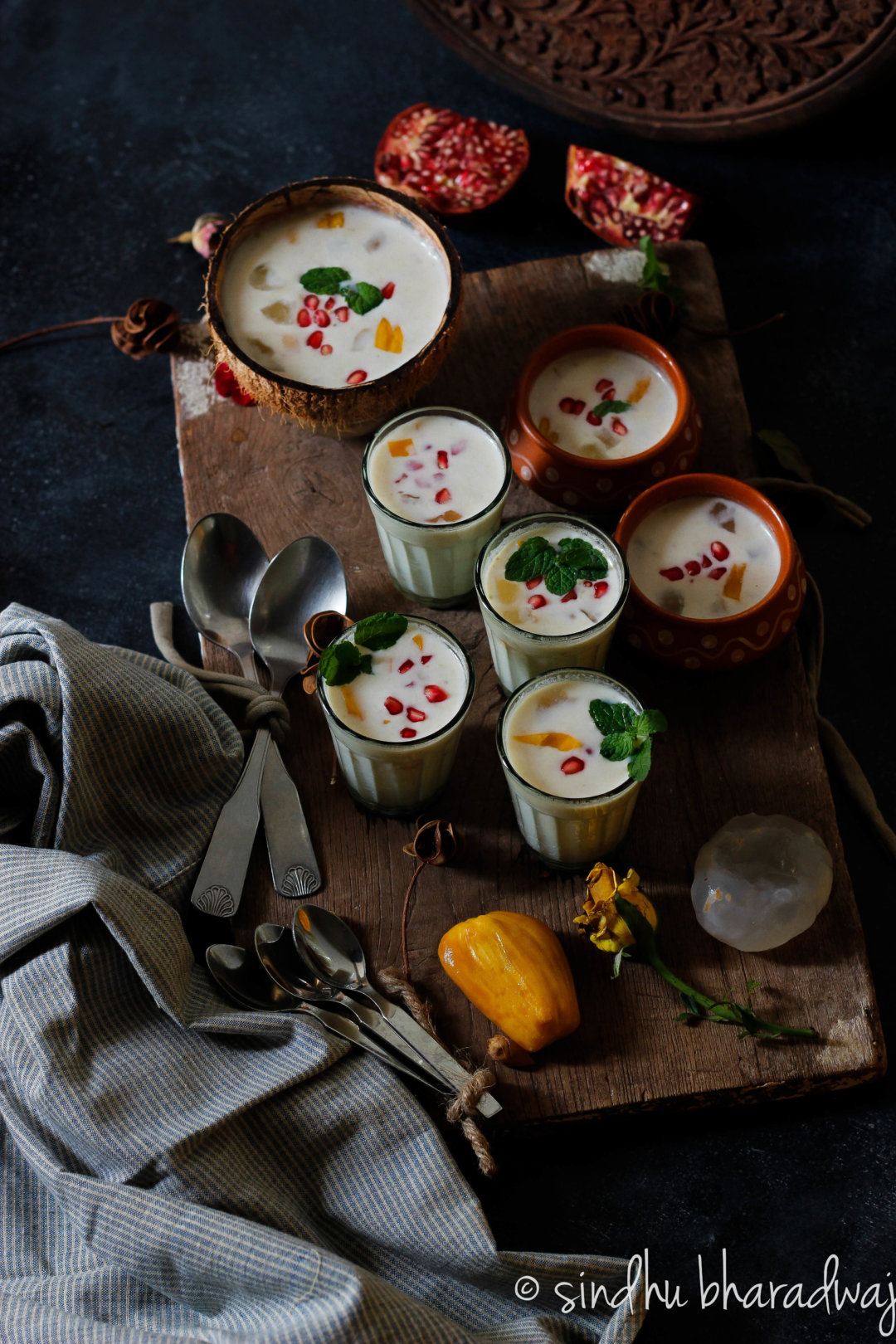 Jackruit and Ice Apple Pudding - A refreshing and easy, light dessert that is vegan and gluten free.