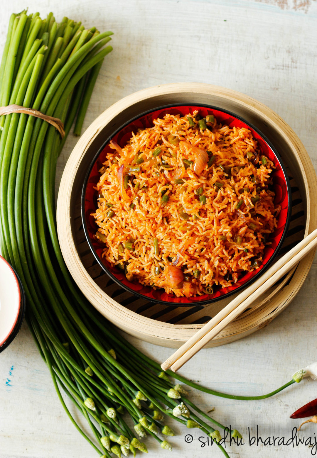 Easy Chilli Garlic Fried Rice